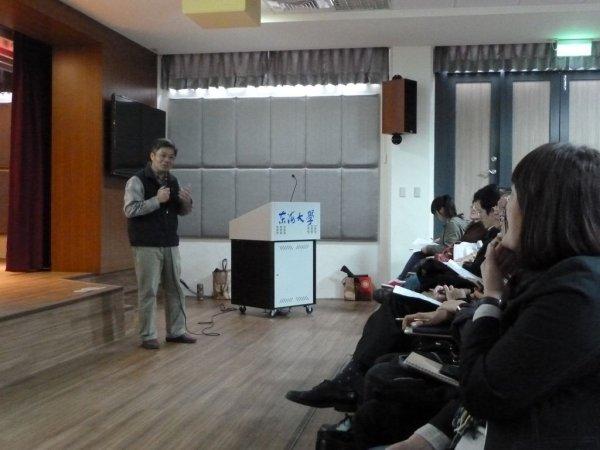 1218-林敏郎先生談東海校園規劃及雨水管理系統1.JPG