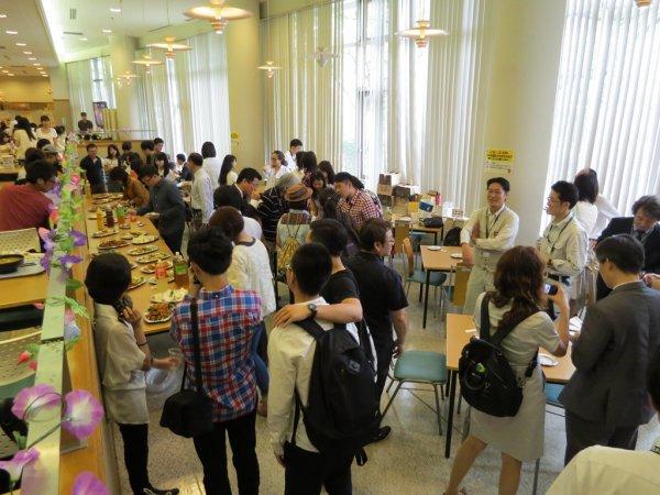 東京農業大學參訪師生餐敘交流.JPG